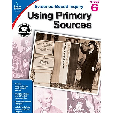 eBook: Carson-Dellosa 104864-EB Using Primary Sources, Grade 6