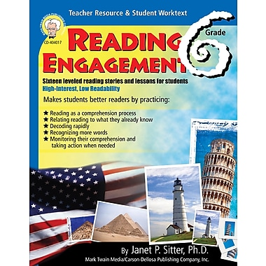 eBook: Mark Twain 404017-EB Reading Engagement, Grade 6