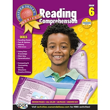 eBook: American Education Publishing 704098-EB Reading Comprehension, Grade 6