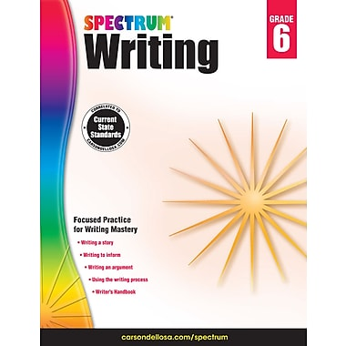 eBook: Spectrum 704575-EB Spectrum Writing, Grade 6