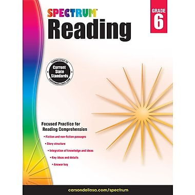 eBook: Spectrum 704584-EB Spectrum Reading, Grade 6