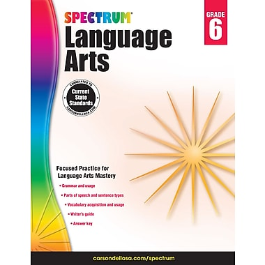 eBook: Spectrum 704593-EB Spectrum Language Arts, Grade 6