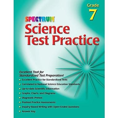 Livre numérique : Spectrum 0769680674-EB Science Test Practice, 7e année