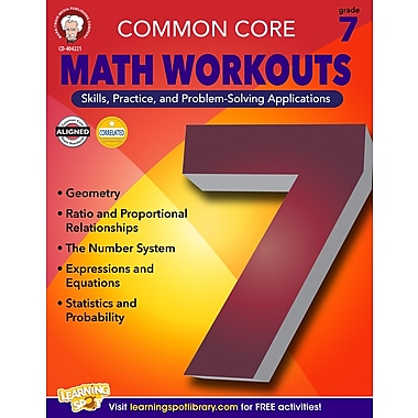eBook: Mark Twain 404221-EB Common Core Math Workouts, Grade 7