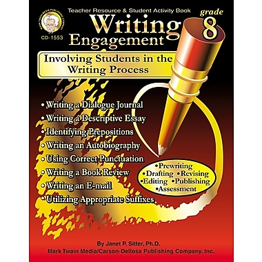 eBook: Mark Twain 1553-EB Writing Engagement, Grade 8