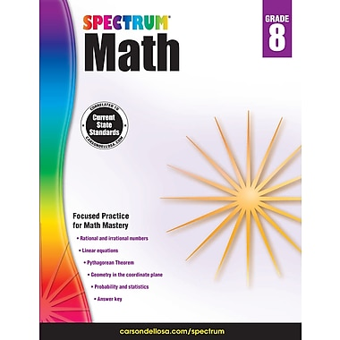 eBook: Spectrum 704568-EB Spectrum Math, Grade 8