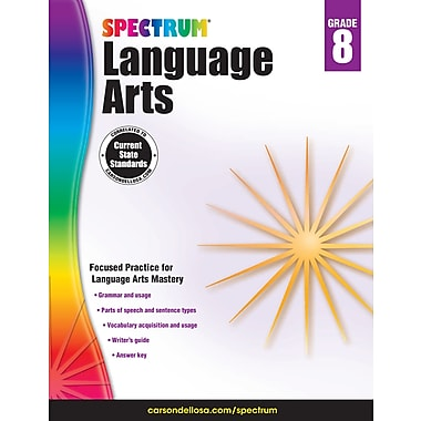 eBook: Spectrum 704595-EB Spectrum Language Arts, Grade 8