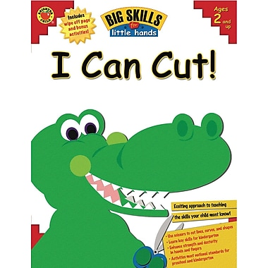 eBook: Brighter Child 0769653626-EB I Can Cut!, Grade Toddler - K