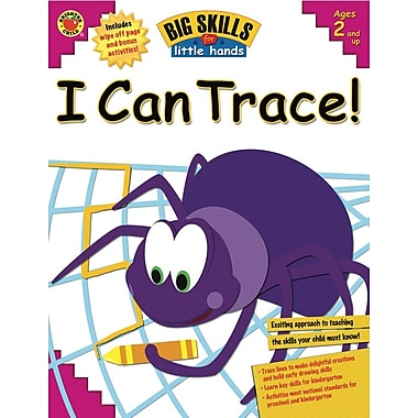 eBook: Brighter Child 0769654029-EB I Can Trace!, Grade Toddler - K