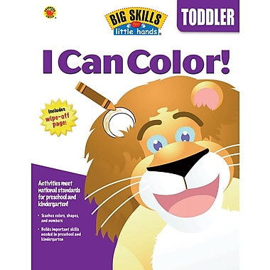 eBook: Brighter Child 0769659683-EB I Can Color, Grade Toddler