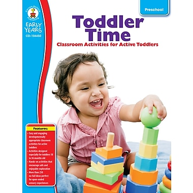 eBook: Carson-Dellosa 104450-EB Toddler Time, Grade Preschool