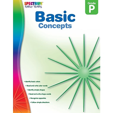 eBook: Spectrum 104455-EB Basic Concepts, Grade PK