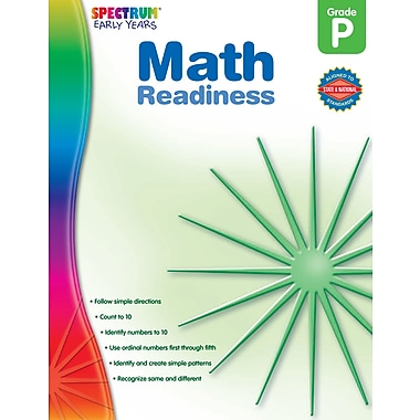 eBook: Spectrum 104463-EB Math Readiness, Grade PK