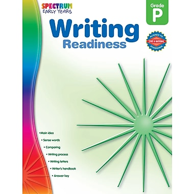 eBook: Spectrum 104466-EB Writing Readiness, Grade PK