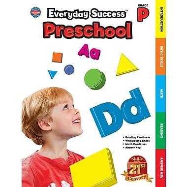 Livre numérique : American Education Publishing� -- Everyday SuccessMD Preschool 704099-EB, préscolaire