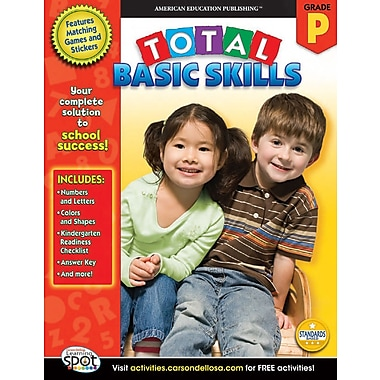 eBook: American Education Publishing 704144-EB Total Basic Skills, Grade PK