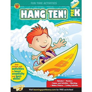 eBook: Brighter Child 704315-EB Hang Ten!, Grade PK