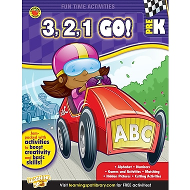 eBook: Brighter Child 704316-EB 3, 2, 1, Go!, Grade PK