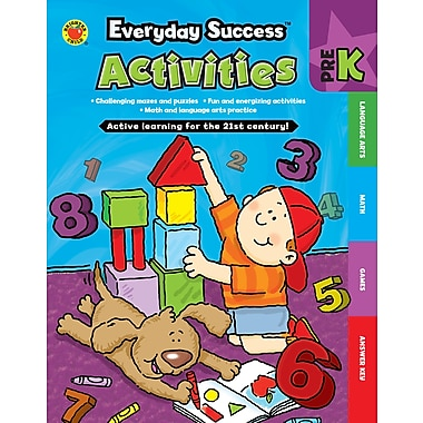 Livre numérique : Brighter Child� -- Everyday SuccessMC Activities Prekindergarten 704379-EB, prématernelle