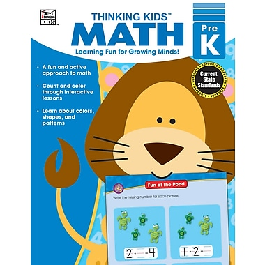 eBook: Thinking Kids 704460-EB Thinking Kids' Math, Grade PK