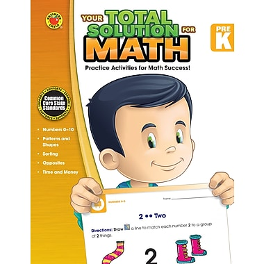eBook: Brighter Child 704552-EB Your Total Solution for Math, Grade PK