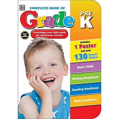 eBook: Thinking Kids 704669-EB Complete Book of PreK, Grade PK