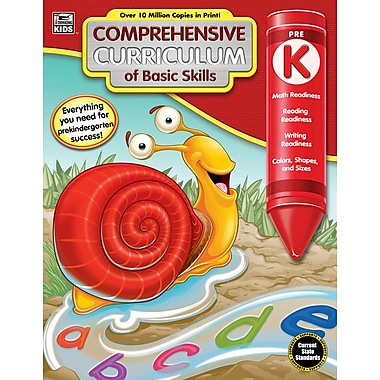 Carson-Dellosa 704892-EB Comprehensive Curriculum of Basic Skills, classe prématernelle