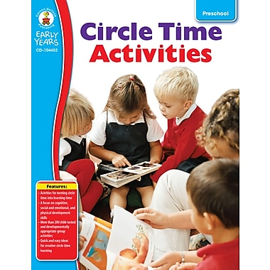 Livre numérique : Carson-Dellosa� -- Circle Time Activities 104452-EB, préscolaire