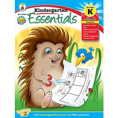 eBook: Carson-Dellosa 104439-EB Kindergarten Essentials, Grade K