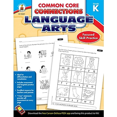 eBook: Carson-Dellosa 104607-EB Common Core Connections Language Arts