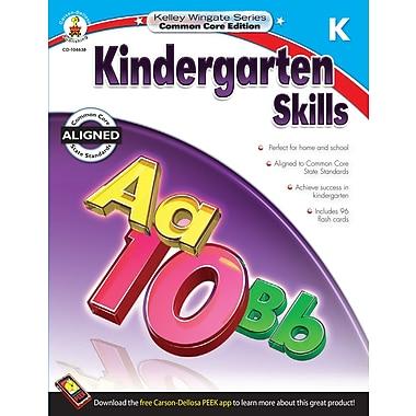Livre numérique : Carson-Dellosa� -- Kindergarten Skills 104638-EB, maternelle