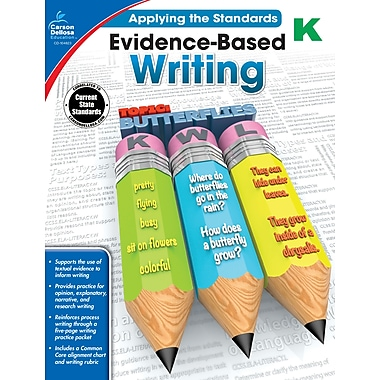 eBook: Carson-Dellosa 104823-EB Evidence-Based Writing, Grade K