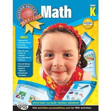 eBook: American Education Publishing 704077-EB Math, Grade K