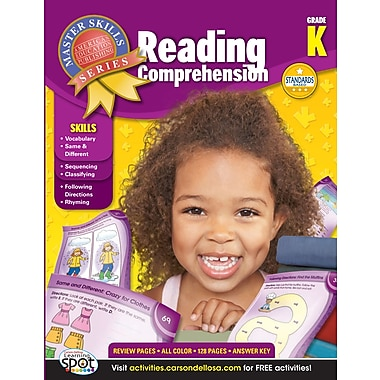 eBook: American Education Publishing 704092-EB Reading Comprehension, Grade K