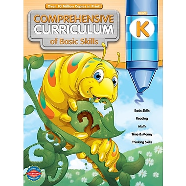 eBook: American Education Publishing 704104-EB Comprehensive Curriculum of Basic Skills, Grade K
