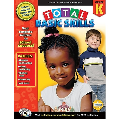 eBook: American Education Publishing 704145-EB Total Basic Skills, Grade K