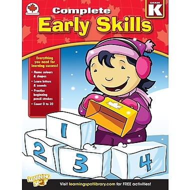 eBook: Carson-Dellosa 704284-EB Early Skills, Grade K