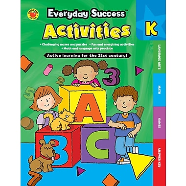 eBook: Brighter Child 704380-EB Everyday Success™ Activities Kindergarten, Grade K
