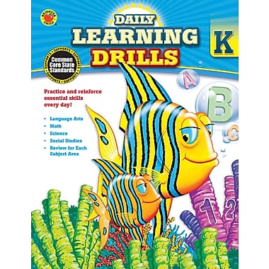 Livre numérique : Brighter Child� -- Daily Learning Drills 704391-EB, maternelle