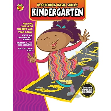 eBook: Brighter Child 704430-EB Mastering Basic Skills® Kindergarten, Grade K