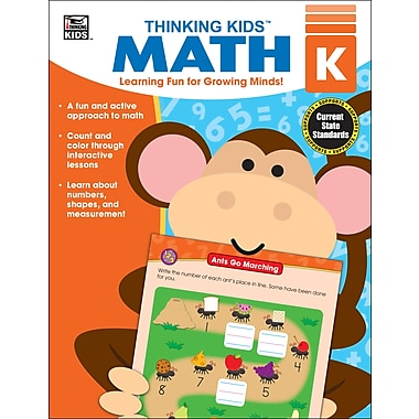 eBook: Thinking Kids 704461-EB Thinking Kids' Math, Grade K