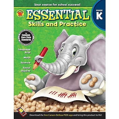 eBook: Brighter Child 704465-EB Essential Skills and Practice, Grade K