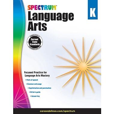 eBook: Spectrum 704587-EB Spectrum Language Arts, Grade K