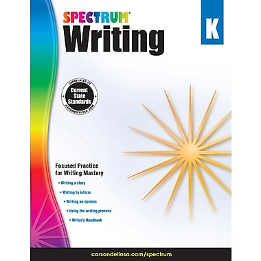 eBook: Spectrum 704623-EB Spectrum Writing, Grade K