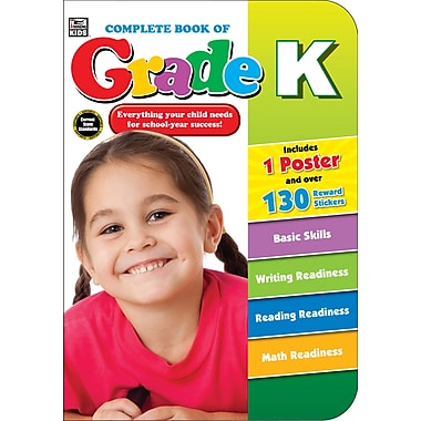 eBook: Thinking Kids 704670-EB Complete Book of, Grade K, Grade K