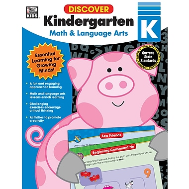 eBook: Thinking Kids 704889-EB Discover Kindergarten, Grade K
