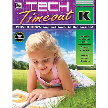 Carson-Dellosa 704920-EB Tech Timeout, classe maternelle