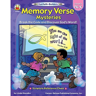 eBook: Christian 2019-EB Memory Verse Mysteries, Grade PK - K