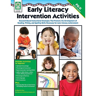 eBook: Key Education 804080-EB Early Literacy Intervention Activities, Grade PK - K