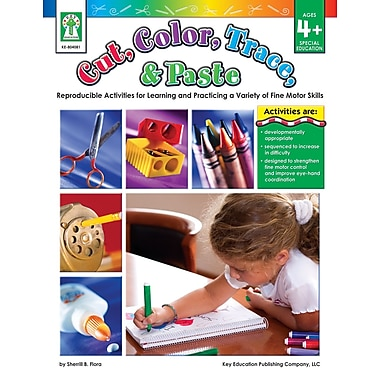 eBook: Key Education 804081-EB Cut, Color, Trace, & Paste, Grade PK - 1